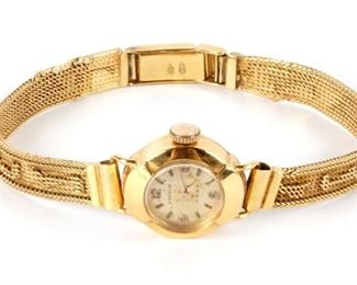 Gander 18k Gold Ladies Wrist Watch