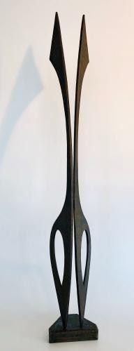 Erwin Gruen Metal Sculpture https://ctbids.com/#!/description/share/281394