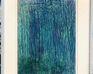 "Vintage Sergio Gonzalez-Tornero Artist's Proof ""Dos Y Tres"" 1960 https://ctbids.com/#!/description/share/281395"