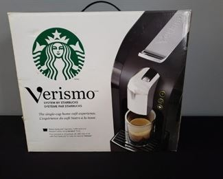 Starbucks Verismo Coffee Maker https://ctbids.com/#!/description/share/280833