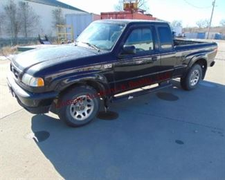 2001 Mazda B3000 Ext Cab Pickup Dual sport, 3.0 V6, PS, PB, PW, PL, AC, Cruise, 197860. miles (Sells subject to owner's approval)