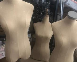 Mannequin forms