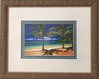 V.K. Tylor Framed Fine Art Photography - Palms https://ctbids.com/#!/description/share/282746