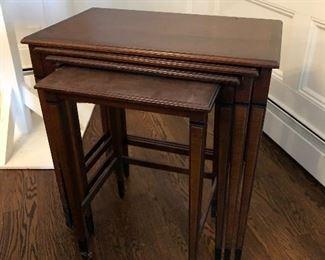 3 vintage tables