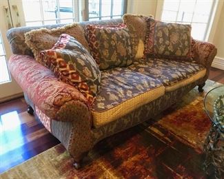 Down Filled Collage Sofa