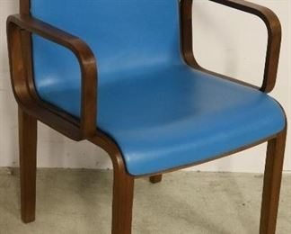 Knoll Stephens arm chair in teal