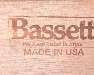 Bassett bedroom set
