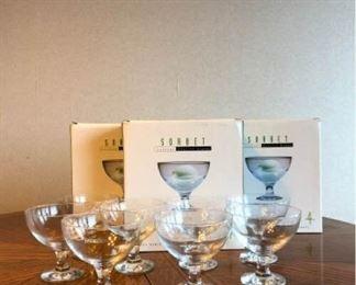 circleware sorbet glasses