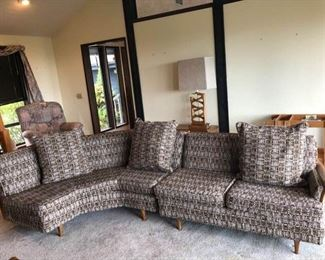 furniture retro sectional