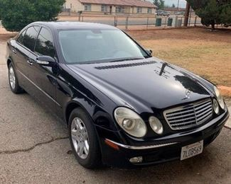 15: 2003 Mercedes-Benz E-Class Year: 2003 Make: Mercedes-Benz Model: E-Class Vehicle Type: Passenger Car Mileage: {ENTER MILEAGE HERE} Plate: {ENTER PLATE NUMBER HERE} Body Type: 4 Door Sedan Trim Level: E320 Drive Line: RWD Engine Type: V6, 3.2L (194 CID) Fuel Type: Gasoline Horsepower: 221HP Transmission: VIN #: WDBUF65J93X110298 Currently on Non-Op. DMV fees: $37 for non op and $70 doc fees