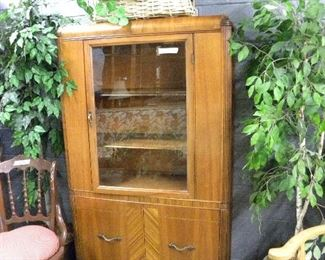 Antique Waterfall Cabinet