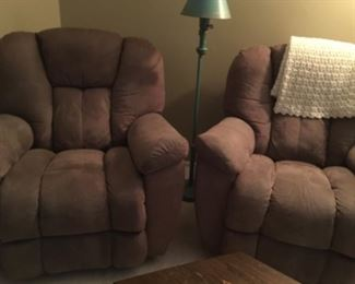Lazy boys rocker recliner