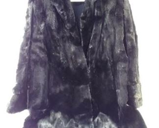 fur full-length jacket