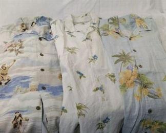 Tommy Bahama and Hilo Hattie  Hawaiian shirts