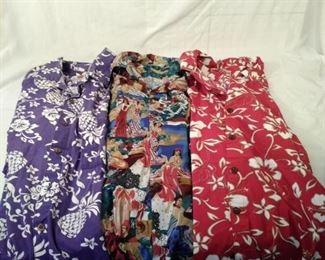 Hilo hattie Hawaiian shirts