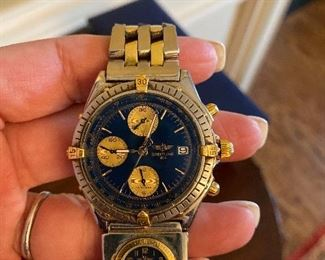 Breitling chronograph model. 100m