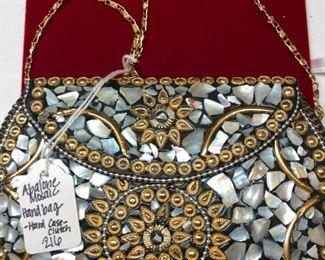 Abalone Mosaic Bag
