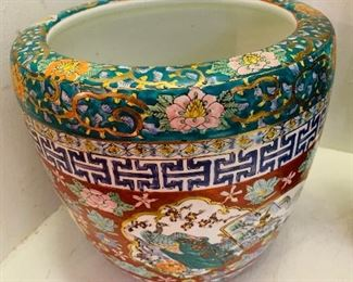 Oriental Fish Bowls, one of two