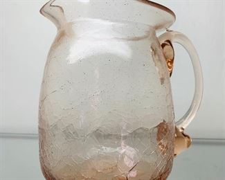 Vintage Crackle Glass Pieces