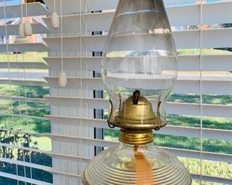 Glass Oil Lantern