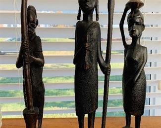 Hand Carved Wood Figurines