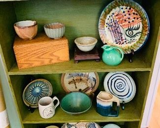 Large Collection, Local and National Pottery
