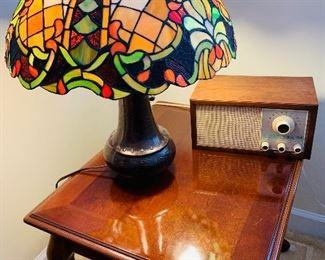 Quiozel, Tiffany Style Table Lamps
