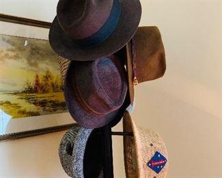 Men's Top Hats, Akubra, Oleg Cassini, Stetson