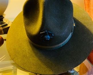 Military Stetson Hat, US Marines Hat Pin
