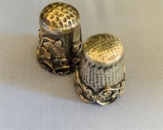 Sterling Thimbles