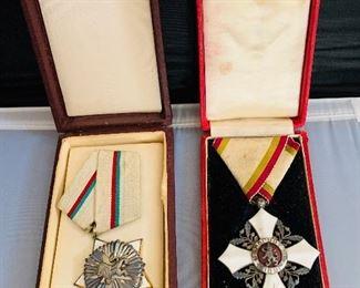 Medals, Bulgarian, Canadian, Russian, US...