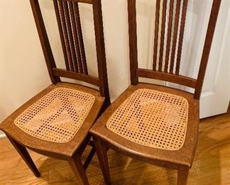 Canned Accent/Dining Chairs