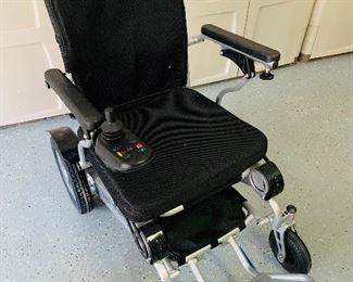 Forza Electric Folding Wheelchair