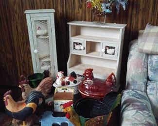 Grouping of Rooster Collection