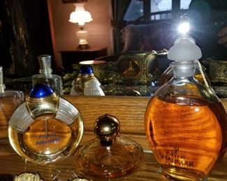 Vintage Perfumes and colognes...Shalimar, Boucheron Jaipur, Chanel, etc