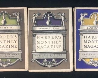Harper's Monthly Magazine early 1900's.