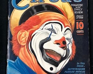 Barnum & Bailey Circus 1938 program/ magazine