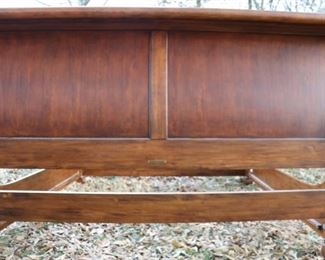 Back of headboard