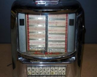 Vintage Seeburg Wall-O-Matic Diner Tabletop Jukebox