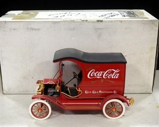 Franklin Mint Ford Model T Coca-Cola Delivery Truck