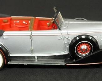 Franklin Mint 1934 Packard Convertible With COA, Numbered 4850/9500