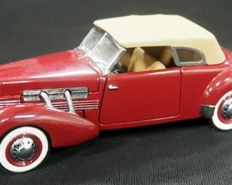 Franklin Mint 1937 Ford 812 Phaeton Coupe
