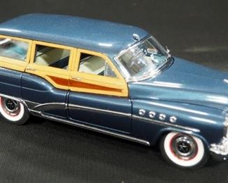 Danbury Mint 1953 Buick Estate Wagon Limited Edition, Numbered 208/5000