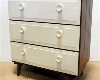 """Wood 3-Drawer Chest Of Drawers, 30"""" H x 26.5"""" W x 15"""" D"""