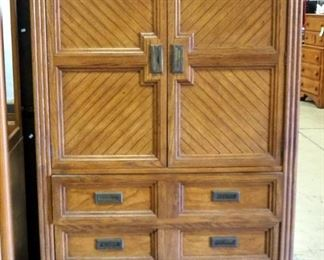 """Huntley By Thomasville 3-Drawer Armoire, Dovetail Construction, 64"""" High x 40"""" Wide x 18"""" Deep"""