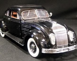 Franklin Mint 1:24 Scale Diecast 1934 Chrysler Airflow Limited Edition # 6517/9900