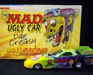 Action 1:24 Scale Diecasts, Includes Jerry Toliver Mad Magazine 1998 Pontiac And Dale Creasy Jr. Mad Magazine/Ugly Car 2000 Firebird