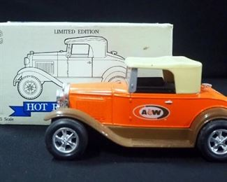 ollection Of 1:25 Scale Diecast Street/ Hot Rods And Revell '31 Ford Model A Sedan Hot Rod Model Kit