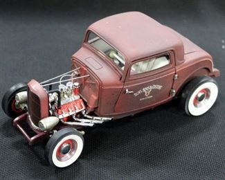 Collection Of 1:24 Diecast Models, Total Qty 5