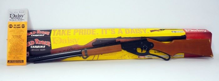 Daisy Red Ryder Carbine BB Gun, With Manual In Box
